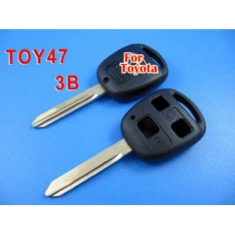 toyota remote key shell 3 button TOY47