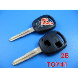 Toyota key shell 2 button toy41