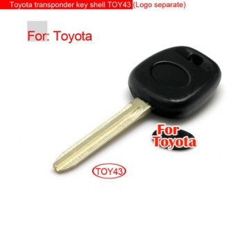 Toyota transponder key shell toy43 (Logo separate)
