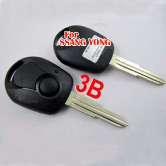 Ssang Yong remote key shell 3 button