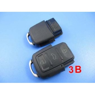 vw remote shell 3 button