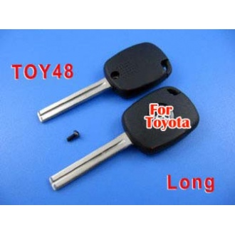 toyota 4D duplicable key toy48 (long) with groove
