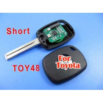 toyota 4C duplicable key toy48 (short) with groove