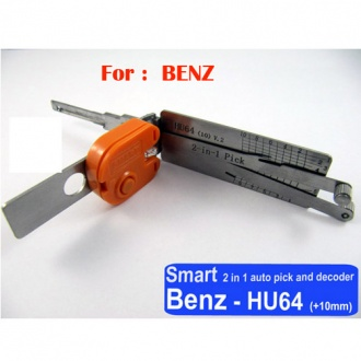 Smart HU64 2 in 1 auto pick and decoder For Benz