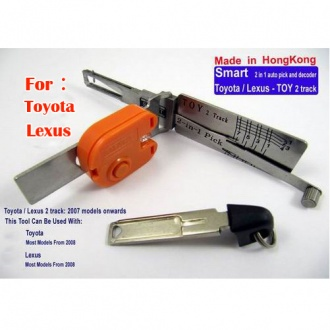 Smart TOY2 2 in 1 auto pick and decoder for Toyota/Lexus