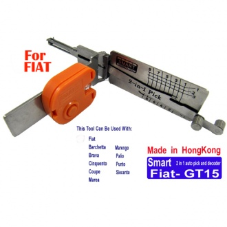 Smart GT15 2 in 1 auto pick and decoder for Fiat