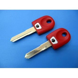 ducati motocycle key shell ( red color)