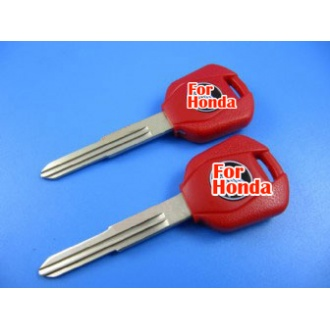 honda motocyle key shell (red color)