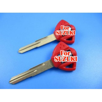 suzuki motocycle key shell (red color)