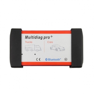 New Design Bluetooth Multidiag Pro+ V2015.03 for Cars/Trucks and OBD2 with 4GB Memory Card and Plastic Box