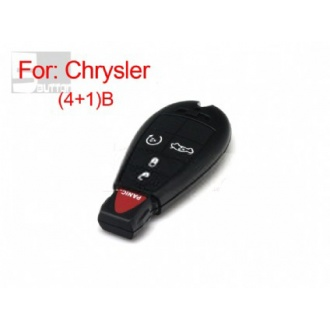 Chrysler smart key shell 4+1 button