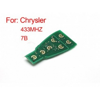 Chrysler smart key board 433 MHZ (available 2-7 button)