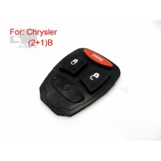 Chrysler button rubber 2+1 button (big button )