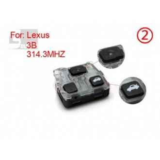 Lexus remote 3 button 314.3MHZ