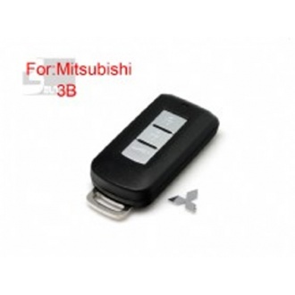 Mitsubishi flip remote key shell 3 button