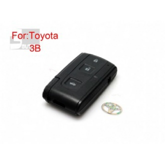 Toyota Crown smart key shell 3 button (with the key blade )