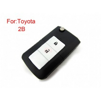 Toyota filp remote key shell 2 button(MOQ 5pcs)