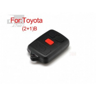 Toyota remote shell 2+1 button