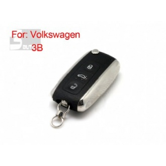 vw modified flip remote key shell 3 button(MOQ 10pcs)