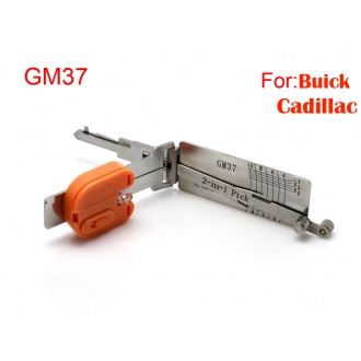 Auto Smart 2 in 1 auto decoder and pick tool GM37