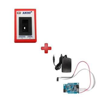 BMW AK90 Key Programmer plus K-LINE 0D46J EWS Adapter