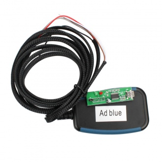 New ADBLUE EMULATOR 7IN1 with programming adapter