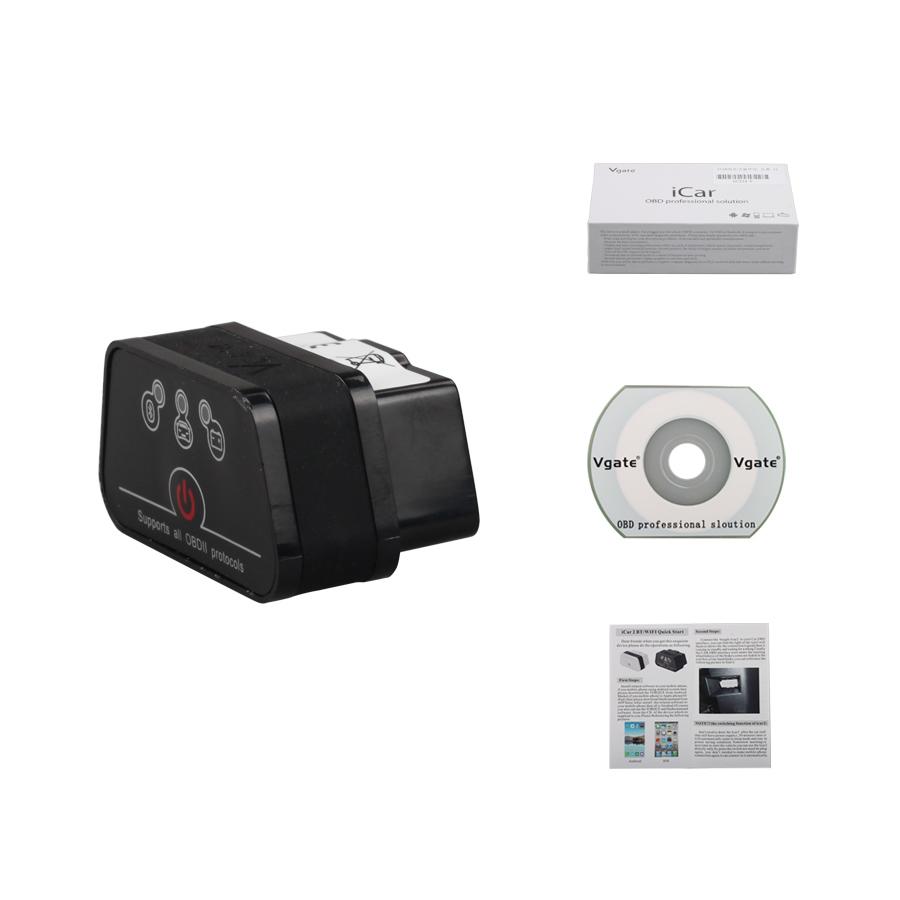 US$19 00 - Newest Vgate ICar 2 Bluetooth Version ELM327 OBD2