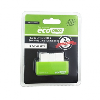 Plug and Drive EcoOBD2 Economy Chip Tuning Box for Benzine Cars Lower Fuel and  Lower Emission