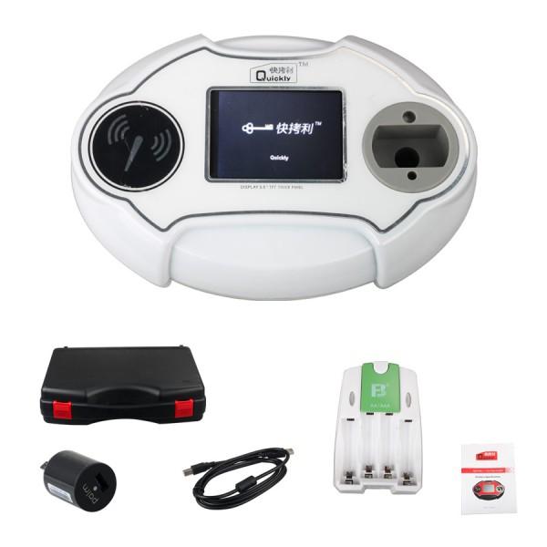 Us 228 00 Quickly 4c 4d 46 48 Code Reader Chip Transponder Auto