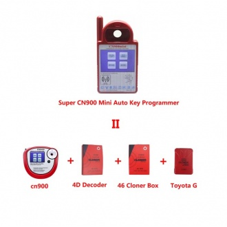 Super CN900 Mini Auto Key Programmer Replacement of  CN900 +4D Decoder +46 Cloner Box +Toyota G Chips Cloner Box