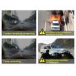HUD Head Up Display Vehicle failure warning,Over-speeding alarming, Coolant temperature alarming, Drowsy driving warning