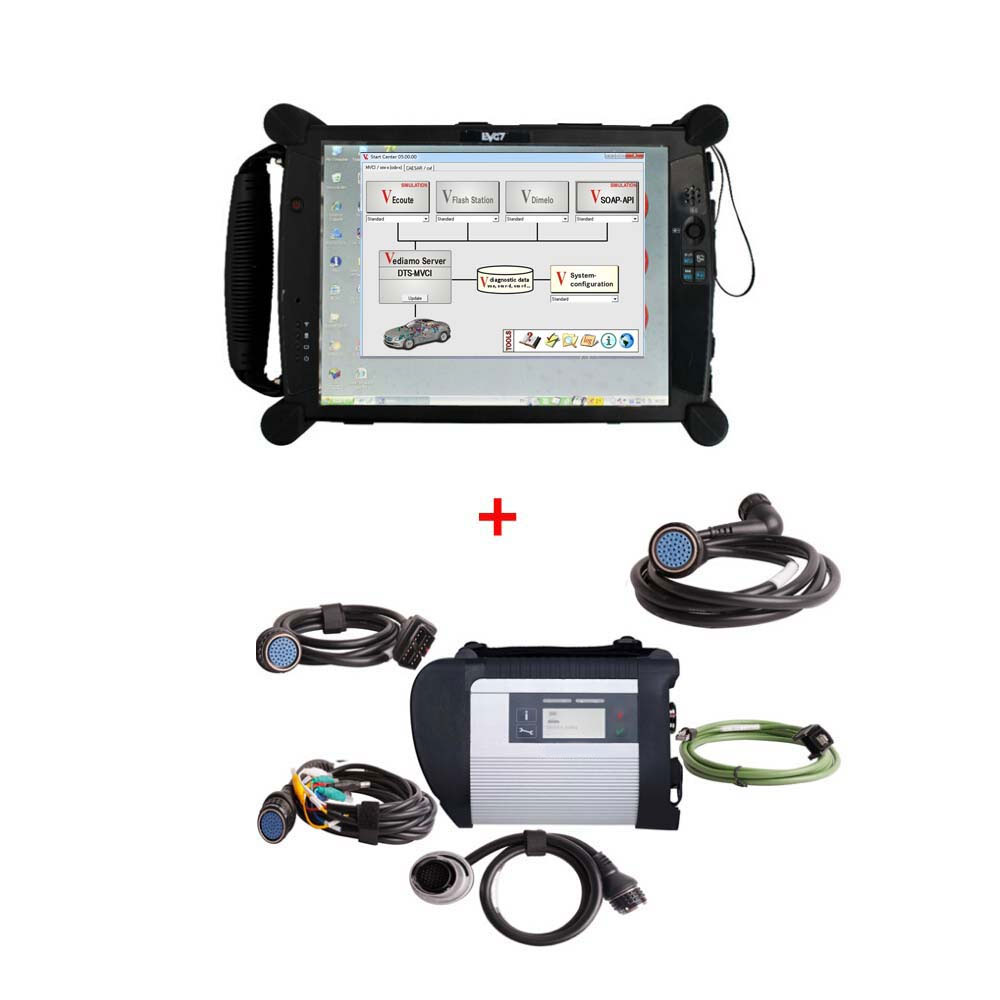 Us mb sd c4 star diagnostic tool with vediamo v05 for Mercedes benz star diagnostic tool