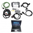 MB SD Connect Compact 4 Star Diagnosis Tool 2017.05 Plus Dell D630 Laptop