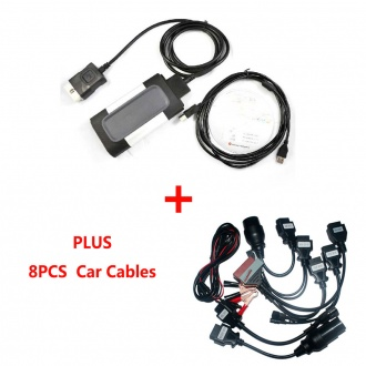 Best Quality TCS CDP for cars/trucks/Generic diagnostic tool With Plastic Box and Bluetooth Plus Car Cables