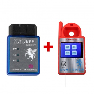 V1.23.2.15 CN900 Mini CN900 Transponder Key Programmer Plus TOYO Key OBD II Support Toyota G All Keys Lost