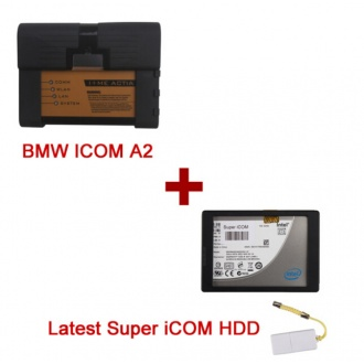 BMW ICOM A2+B+C with Super iCOM 2017.12 Version Software support update online Fit All Sata Laptops