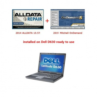 2014 ALLDATA 10.53 and 2015 Mitchell installed on Dell D630 ready to use