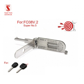 Super Auto Decoder and Pick Tool FO38V.2