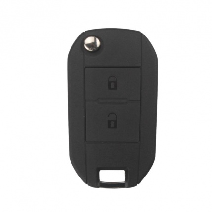 Remote Key Shell 2 Button HU83 for Peugeot 5pcs/lot