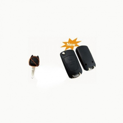 Buy Modified Flip Remote Key Shell 2 Button (YM28) for Opel 5pcs/lot
