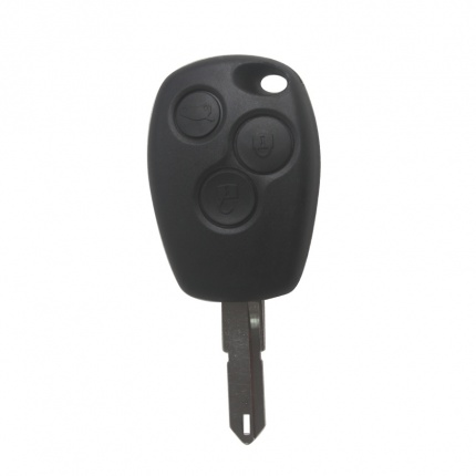 3 Buttons Remote Key Shell For New Renault