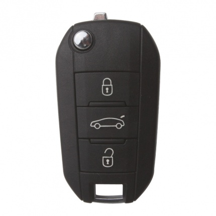 3 Button 433MHZ  Remote Key for Original Peugeot 508