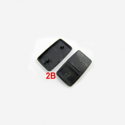 Remote Rubber 2 Button For VW 20pcs/lot