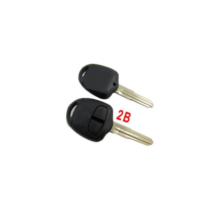 Remote Key Shell 2 Button (Without Inside Remote Shell) For Mitsubishi 10pcs/lot