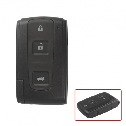 Smart Key Shell 3 Button (With Key Blade ) For Toyota Crown