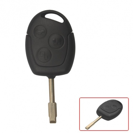 3-Press Remote Key 433MHZ Made In China for Ford Mondeo
