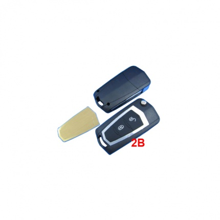 Modified Flip Remote Key Shell 2 Button for Hyundai Elentra 10pcs/lot
