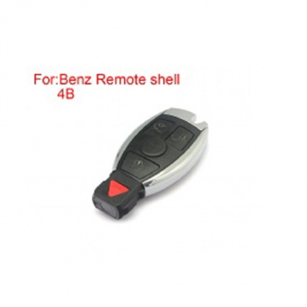 Remote Key Shell 4 Buttons for Mercedes-Benz Waterproof