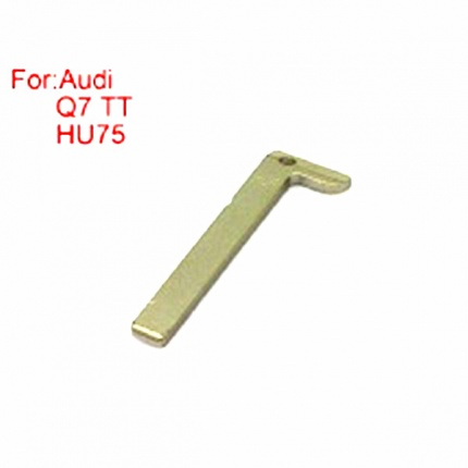 Smart Emergency Key HU75 for 2016 Audi Q7 TT 5pcs/lot