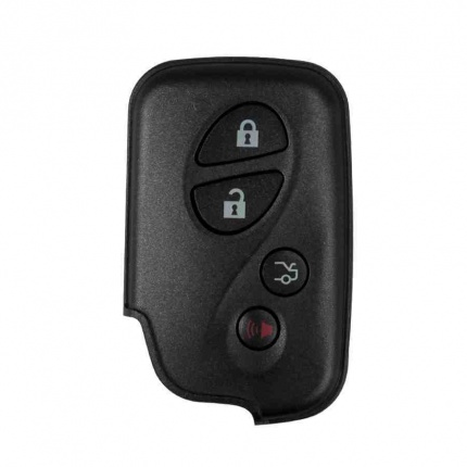4 Button Smart Key Shell for Lexus